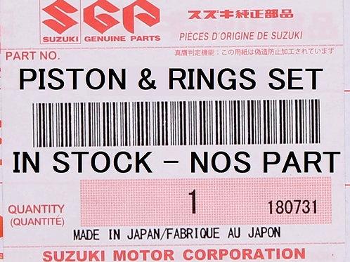 SUZUKI GENUINE PISTON - RINGS SET GSXR750 GSX-R 750 90-91 12100-17D00-050 NOS