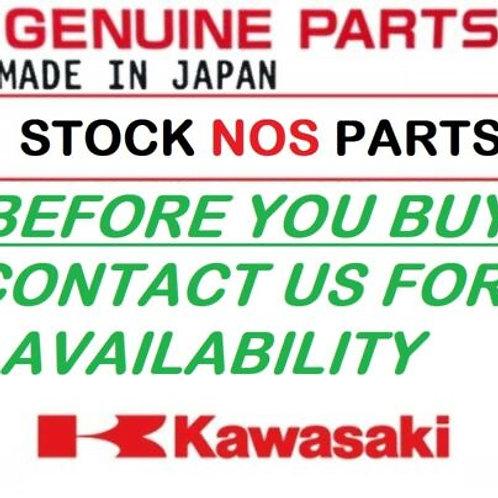KAWASAKI GENUINE VULCAN CLASSIC VN900  SADDLEBAGS SET WITH STUDS 149LUU0002 NOS