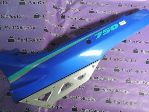 SUZUKI GENUINE GSX750F 91 GSX 750 F REAR LEFT TAIL COVER PANEL 47211-20C00 NOS