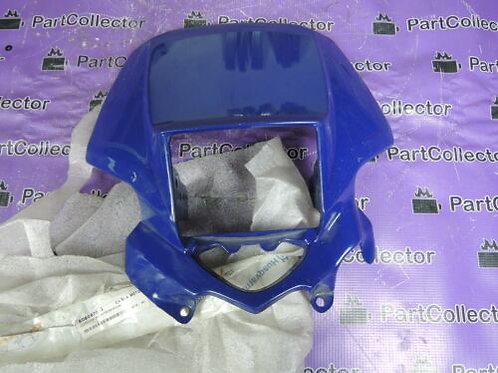 HUSQVARNA TE SM 610 1998 FRONT COWLING FRAME MASK HEADLIGHT BLUE 80B087060