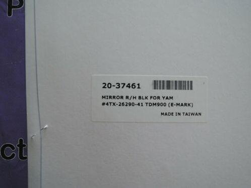 EMGO YAMAHA TDM900 TDM850 TRX850 LEFT RIGHT MIRROR 4TX262905000  4TX262805000