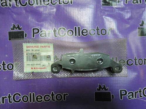 KAWASAKI PAD ASSY BRAKE 2016 Vulcan 900 Classic  VN900BGF 43082-0063