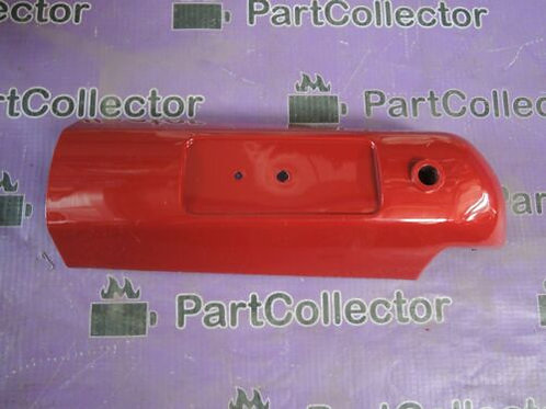 SUZUKI WINDY 100 LEFT FRONT FORK COVER RED 51882-30A21-340 NOS