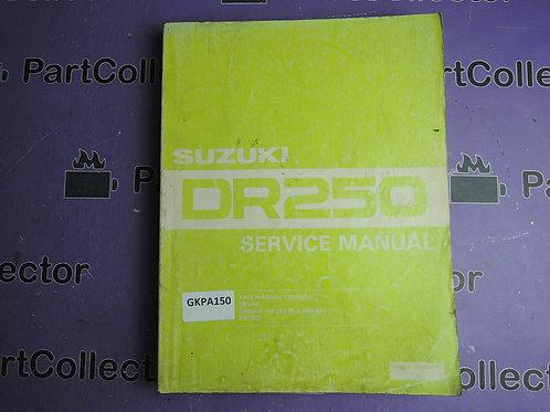 SUZUKI 1990 SERVICE MANUAL DR 250 99500-42003-01E
