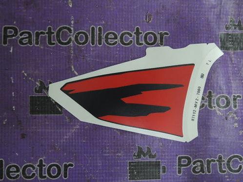 HONDA NX650 MARK NX500P 650P R 1994 LEFT FUEL TANK DECAL STRIPE 87112-MY2-700ZC