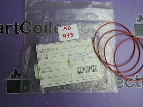 CAGIVA 3x O-RING 69X1.78 1985 W8 125 800038203