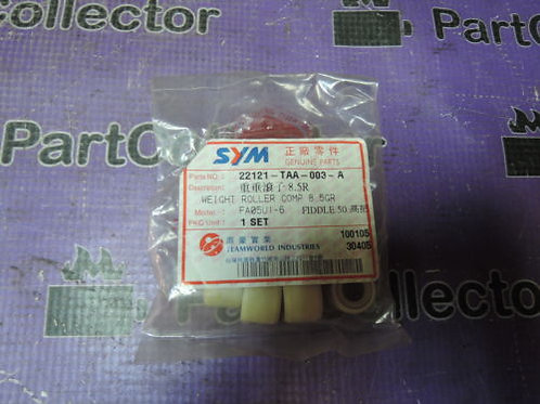 SYM WEIGHT ROLLERS 8.5GR FIDDLE DD JET MASK 50 22121-TAA-003-A