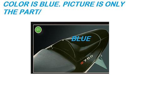 KAWASAKI ZR750 Z750 2004-2006 KIT REAR COWL BLUE SEAT COVER 999961347723 NOS