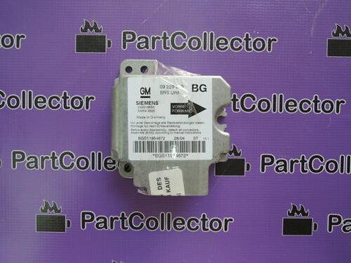 GM 09195634 CONTROL UNIT SENSOR AIRBAG OPEL 6237114 ZAFIRA F75 ASTRA G  1999-05