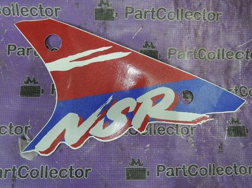 HONDA NSR50 1993 LEFT LOWER UNDER COWL DECAL STRIPE STICKER 64316-GE2-680ZA