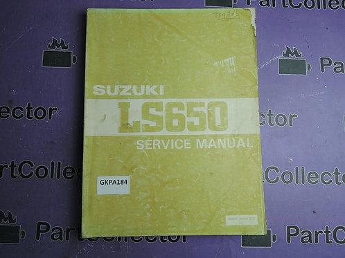 1993 SUZUKI LS650 SERVICE MANUAL 99500-36068-01E