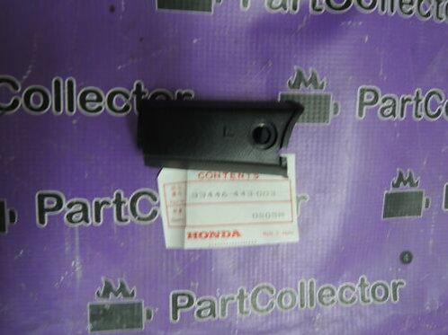 HONDA CB250 CB400N 1978 1980 FRONT LEFT WINKER TURN SIGNAL COVER 33446-443-003