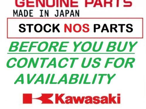 KAWASAKI NINJA ZX1000 ZX-10 1988 DECAL E-BOX FRAME EBONY SILVER 56050-1110 NOS