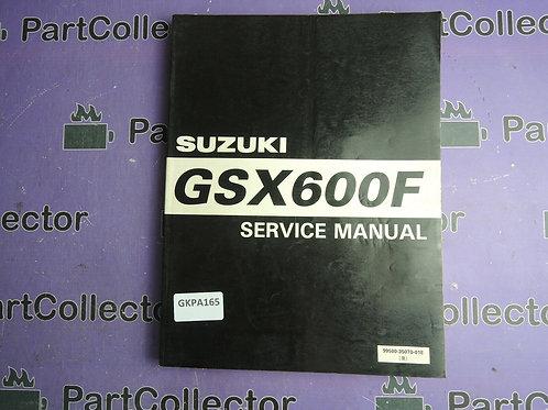 1997 SUZUKI GSX600F SERVICE MANUAL 99500-35070-01E