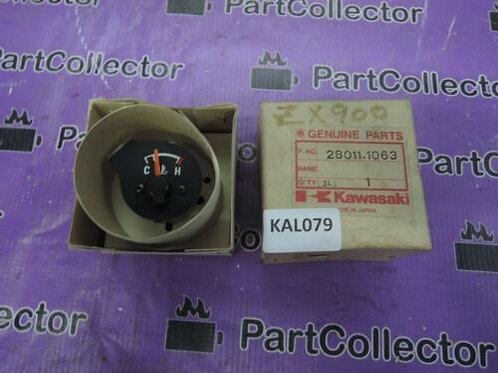 KAWASAKI ZX900 ZX1000 ZX600 87-89 TEMP GAUGE 28011-1070 28011-1063 NOS