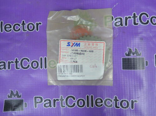 SYM MX 125 2004 VIVO VS 14105-HAM-000 CAMSHAFT SPROCKET GEAR VALVE 14105-HAM-000