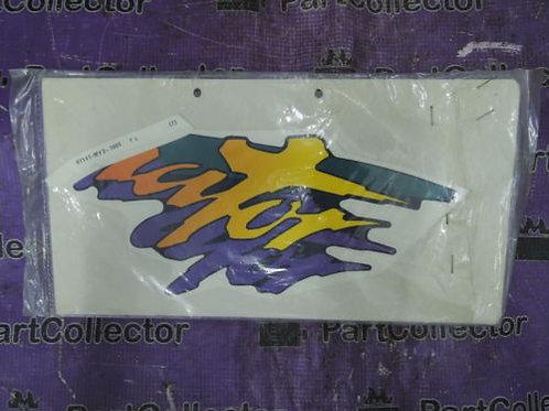 HONDA NX650 1994 MARK NX500P 650P R LEFT SIDE FUEL TANK DECAL 87117-MY2-700ZD