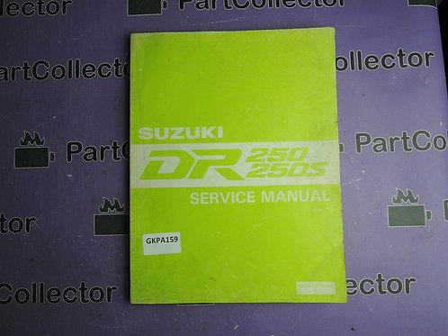 1990 SUZUKI DR250 250S SERVICE MANUAL 99500-42110-01E
