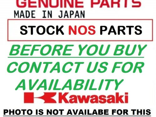 KAWASAKI ZR750 J1H Z750 2004 FENDER FRONT RED MUDGUARD 35004-0024-H1 NOS