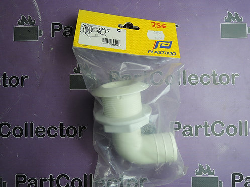 PLASTIMO THRU HULL Angled 38 mm 39550