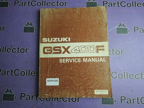 1981 1982 1983 SUZUKI GSX400F SERVICE MANUAL 99500-34032-01E
