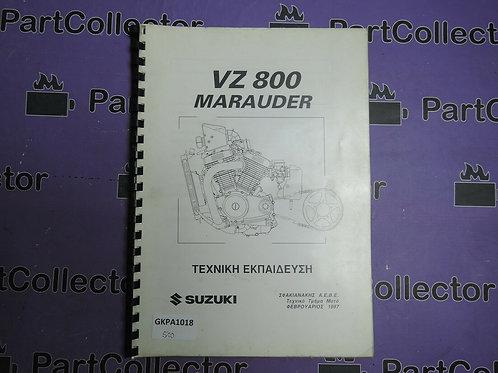 1997 SUZUKI technical education VZ 800 MARAUDER GREECE
