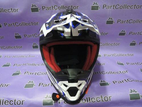 LS2 MX MOTORCYCLE MOTOCROSS MX 456.61 COMPASS HELMET XL 61-62