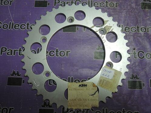 KTM DUKE ENDURO SMC 690 REAR SPROCKET 583.10.151.045   99045 45Z