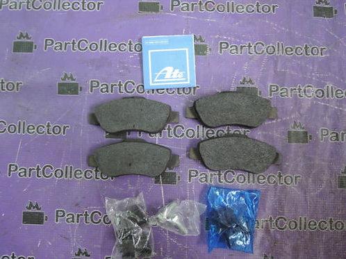 ATE 13.0460-3809.2 SET OF BRAKE DISC SHOE PADS FIAT PANDA 603809