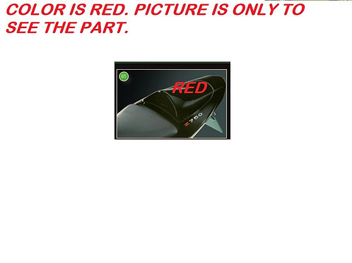 KAWASAKI ZR750 Z750 2004-2006 KIT REAR COWL RED SEAT COVER 999961347H1 NOS