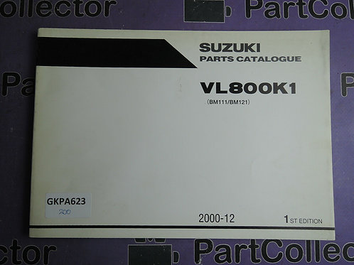 2000-12 SUZUKI VL800K1 PARTS CATALOGUE 9900B-30141