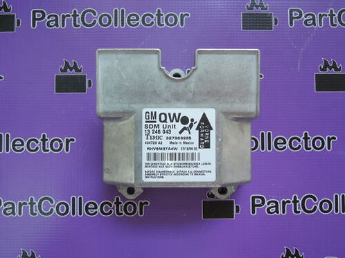 GM 13246043 OEM OPEL 1232153 CONTROL UNIT AIRBAG ASTRA-H  MY04-14