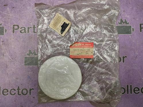SUZUKI FB50 F100 LEG SHEILD FAIRING COVER CAP 48277-09401-189