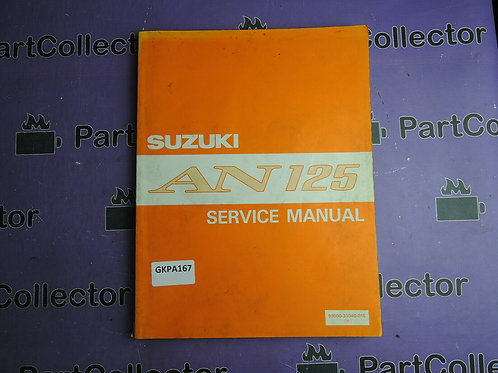 1994 SUZUKI AN125 SERVICE MANUAL 99500-31040-01E