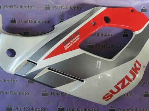 SUZUKI GENUINE GSX750F 91 SLINGSHOT LEFT FAIRING COVER PANEL 94441-19C00 NOS