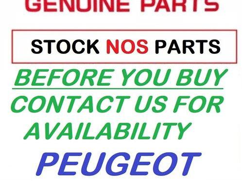 PEUGEOT KISBEE 2T 4T 100 FRONT COVER NOIR NACRE COWLING 779171NK NOS