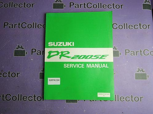 SUZUKI 1995 DR200SE MANUAL SERVICE 99500-41101-01E