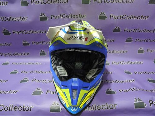 JUST ONE J1 MOTORCYCLE MOTOCROSS MX HELMET J 12 FLAME LARGE L  59-60