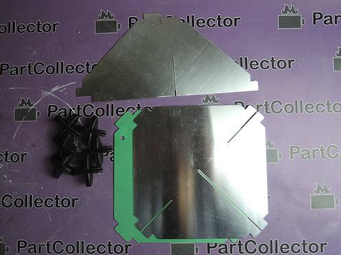 RADAR REFLECTOR 27015 NUOVA RADE MADE IN ITALY 215X215X300 mm 450g 3m2