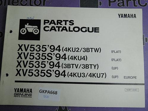 1994 YAMAHA XV535 PARTS CATALOGUE 143BT-300E1