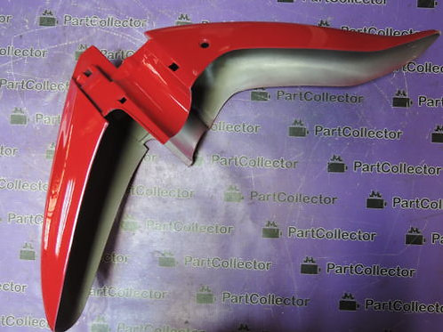 DAYTONA FRONT FENDER MUDGUARD RED DY50 4111703-2