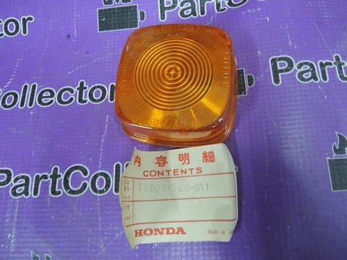 HONDA MT50S CB125T CB250RS 1984 REAR WINKER TURN SIGNAL LENS 33602-166-611