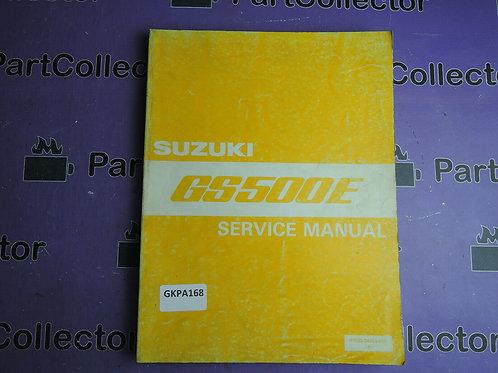 1992 SUZUKI GS500E SERVICE MANUAL 99500-34064-01E