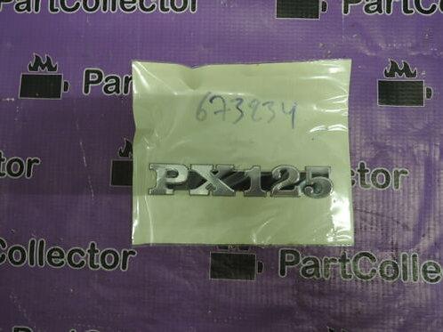 PIAGGIO VESPA PX 125 2011 2012 2013 2014 2015 2016 2017 PX125 LOGO