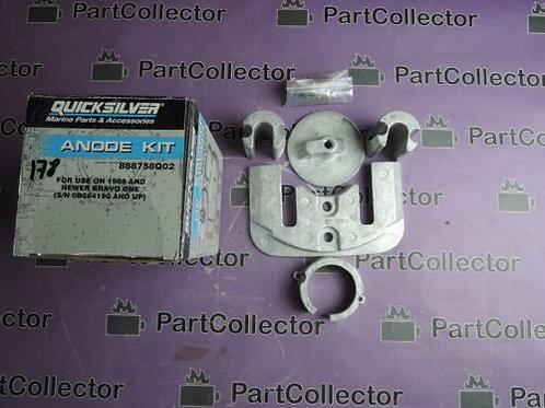 Mercruiser Quicksilver Anode Kit 888758Q02 888758Q01