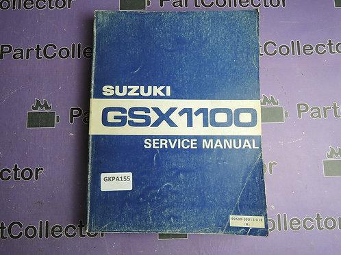 1990 SUZUKI GSX1100 SERVICE MANUAL 99500-39013-01E