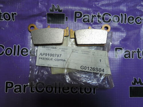 APRILIA GENUINE REAR BRAKE PADS RXV SXV 450 550 9100797 AP9100797