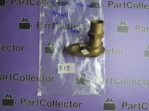 MARINE BOAT Brass Hexagonal Marine Plumbing strainer  1'' inch ITALY