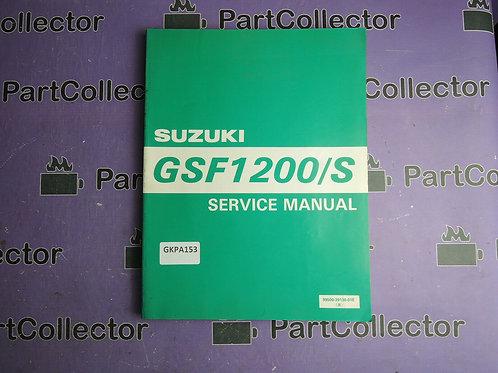 SUZUKI 1996SERVICE MANUAL GSF1200 S 99500-39130-01E