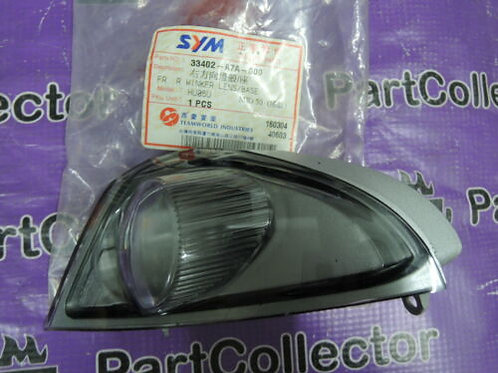 SYM MIO50 MIO 50 FRONT RIGHT WINKER TURN SIGNAL INDICATOR BLINKER 33402-A7A-000